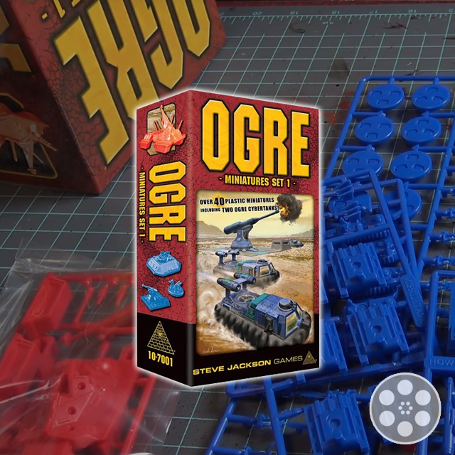 Ogre: Miniatures Set 1 Review