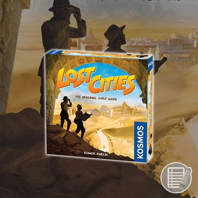 Lost Cities: The Original Card Game Review