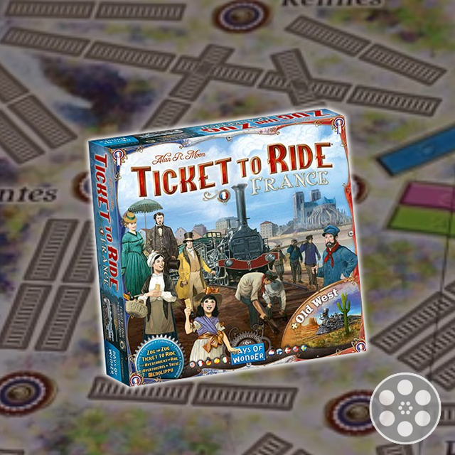 Ticket to Ride: France & Old West Review