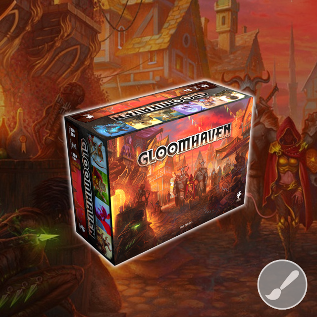 Painting with Rob: Gloomhaven