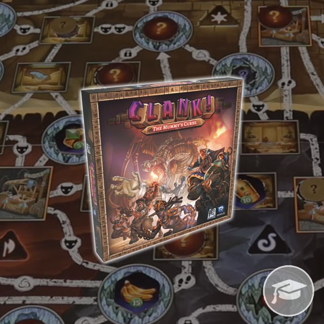Clank! The Mummy's Curse Rules School