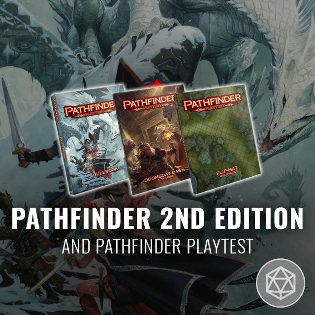 Pathfinder 2nd Edition and Pathfinder Playtest