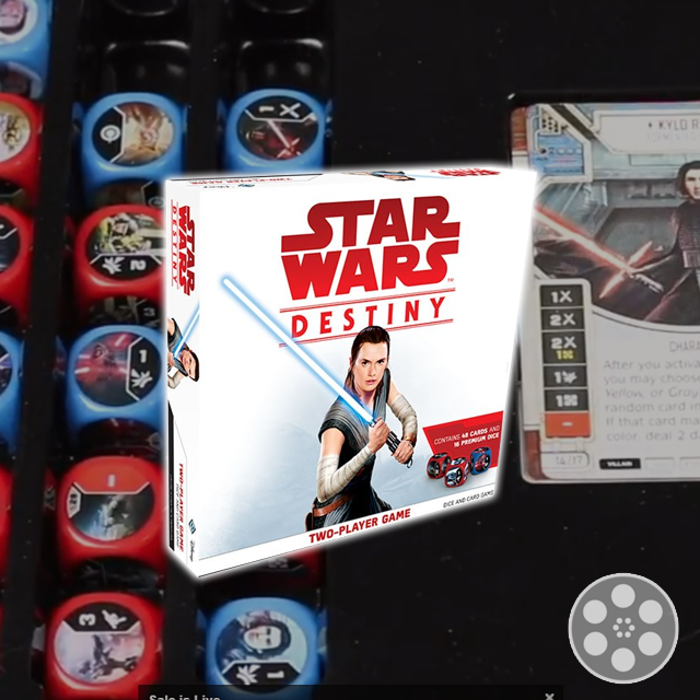 Star Wars Destiny: Two-Player Game Review