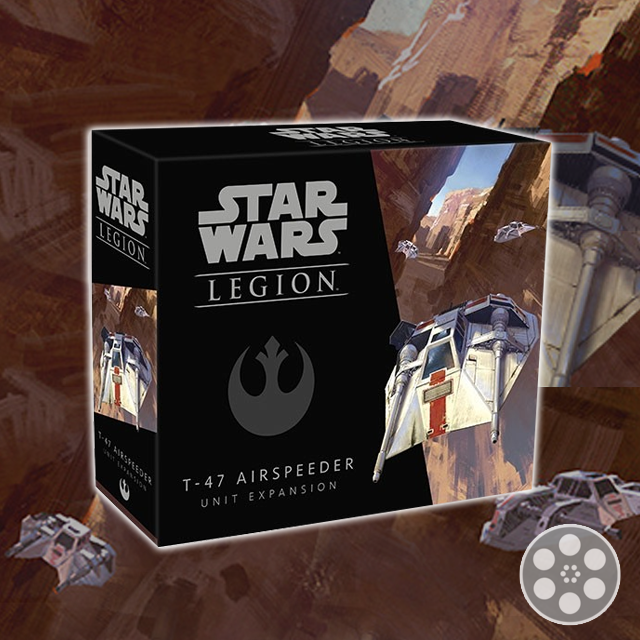 Star Wars: Legion - T-47 Airspeeder Unbox & Build