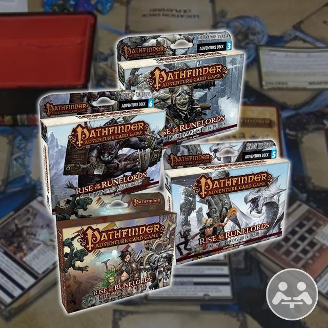 Pathfinder Adventure Card Game Playthrough