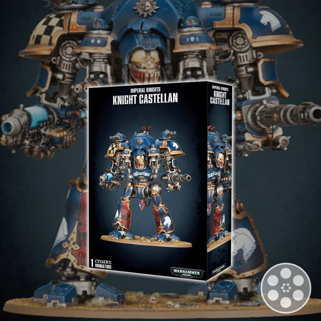 Imperial Knights Castellan, Valiant & Helverins Unboxing
