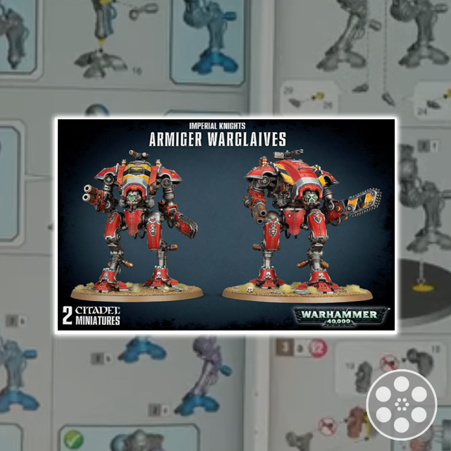 Warhammer 40K: Armiger Warglaives Unbox & Build