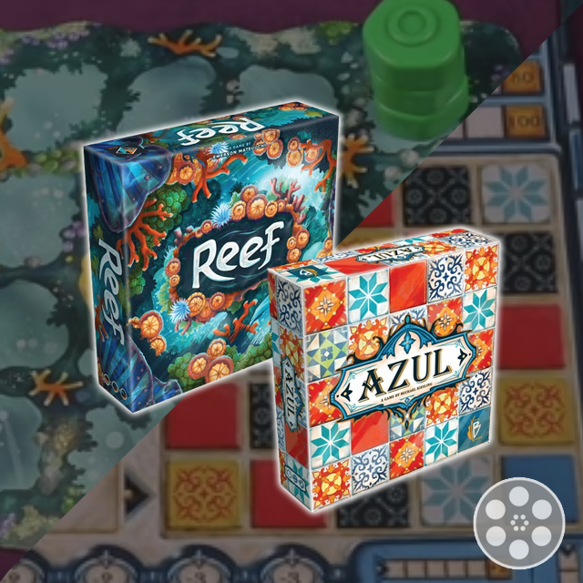 Reef vs Azul with the Game Boy Geek
