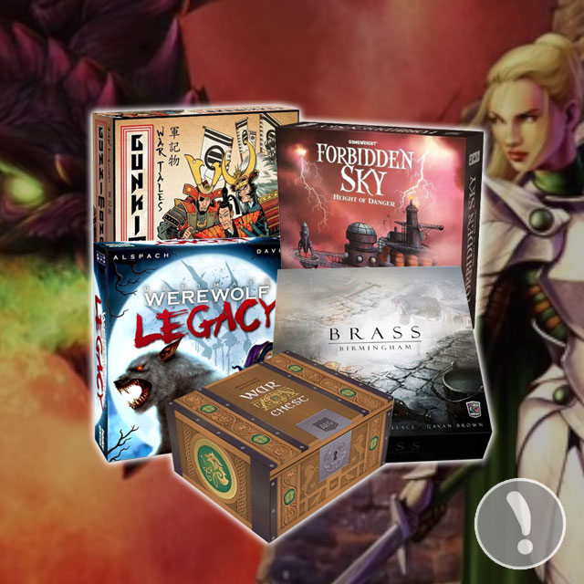 Top 10 Most Anticipated Gen Con 2018 Releases