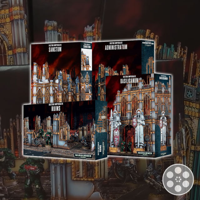 Old GW Terrain vs Sector Imperialis Terrain