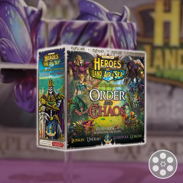 Heroes of Land, Air, & Sea: Order & Chaos Review