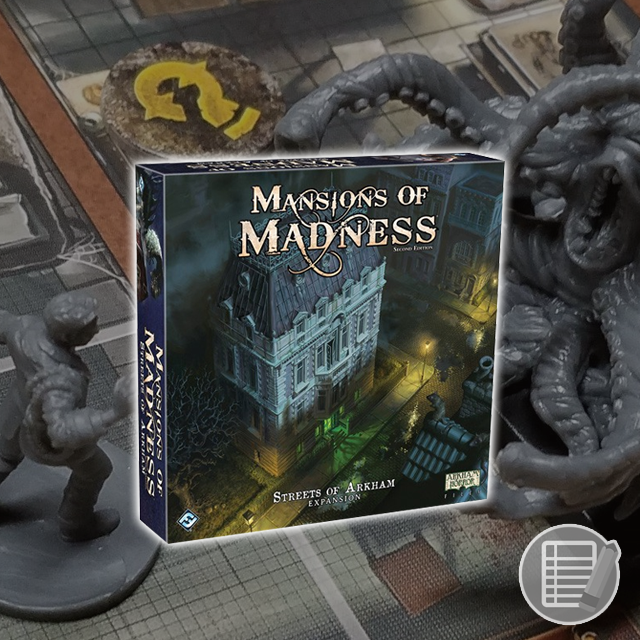 Mansions of Madness: Streets of Arkham Review