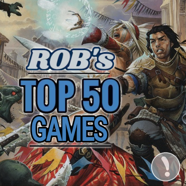 Rob's Top 50 Games of All Time