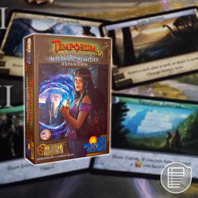 Temporum: Alternate Realities Expansion Review