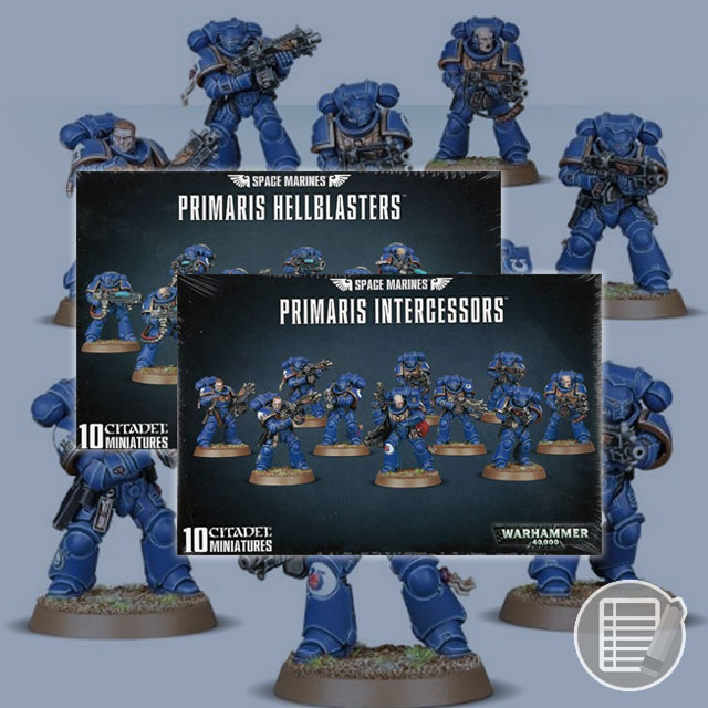 Warhammer 40K: Hellblasters and Intercessors Review