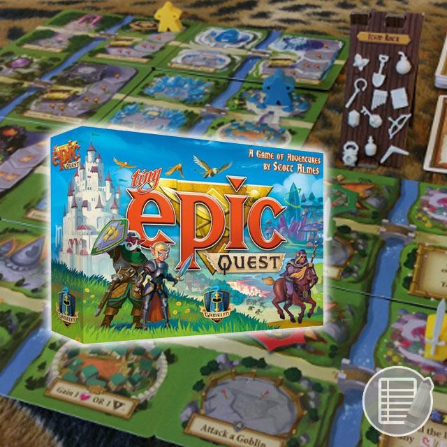 Tiny Epic Quest Review