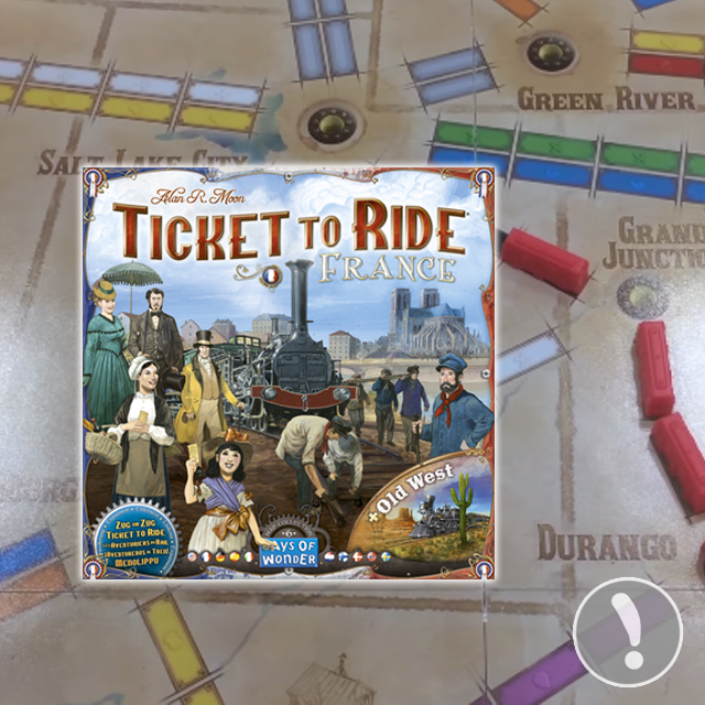 Ticket to Ride: France & Old West Sneak Peek