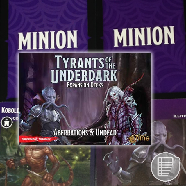 Tyrants of the Underdark: Expansion Decks Review