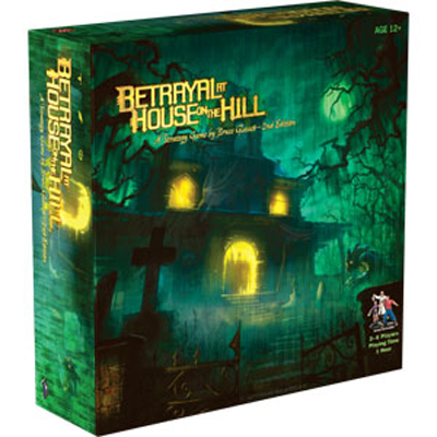 Betrayal at House on the Hill (2nd Edition) (The Drop)