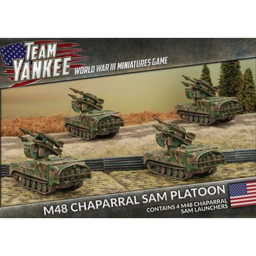 Team Yankee Usa M163 Vadsm901 Itv Platoon