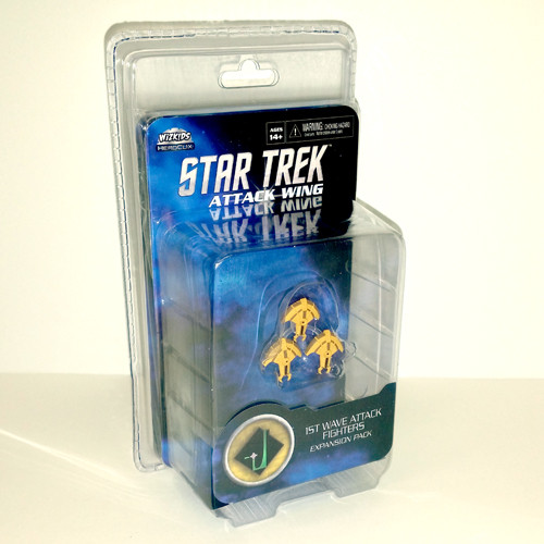 Star Trek Attack Wing Dominion 1st Wave Attack Fighters Expansion