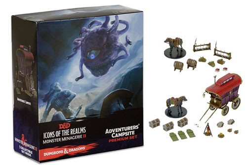 Dungeons & Dragons Fantasy Miniatures: Monster Menagerie 2 - Adventurers' Camp Premium Figure