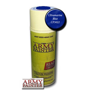 Army Painter Base Primer: Ultramarine Blue