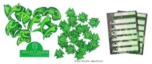 Warclaws - Token Set: Druidic Green (44)