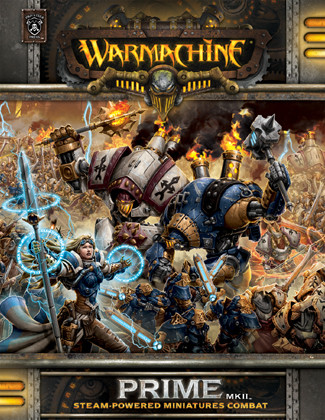 Warmachine Rulebook Prime MK II Soft Cover (Clearance)