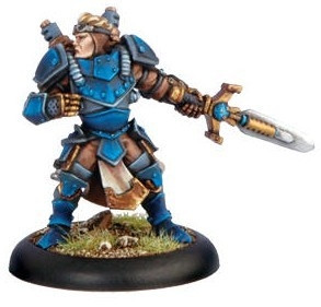 Warmachine: Cygnar - Journeyman Warcaster