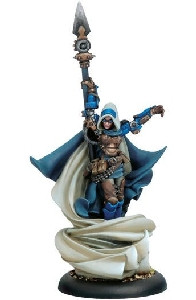 Warmachine: Cygnar - Major Victoria Haley Epic Warcaster