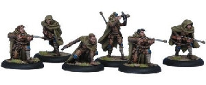 Warmachine: Cygnar - Rangers Unit Box (6)