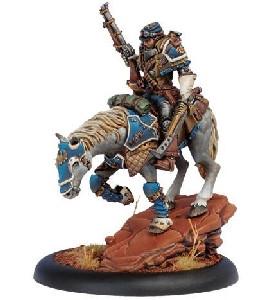 Warmachine: Cygnar - Warcaster Captain Jeremiah Kraye