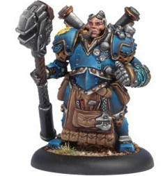 Warmachine: Cygnar - Captain Arlan Strangewayes