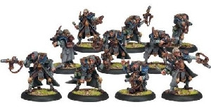 Warmachine: Cygnar - Trencher Commandos Unit Box (10)