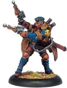 Warmachine: Cygnar - Lt. Allister Caine Warcaster (Variant)