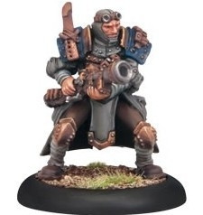 Warmachine: Cygnar - Trencher Commando Scattergunner
