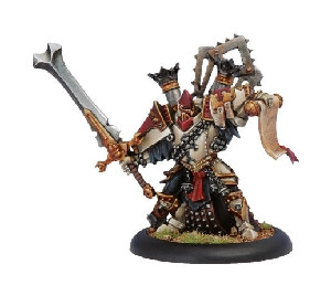 Warmachine: Protectorate - Warcaster High Executioner Reznik