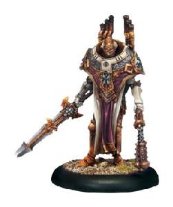Warmachine: Protectorate - Vice Scrutator Vindictus Warcaster