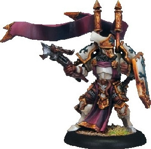 Warmachine: Protectorate - Exemplar Errant Seneschal