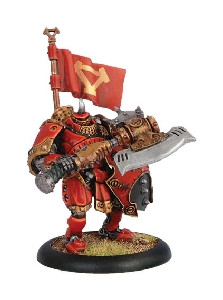 Warmachine: Khador - Man-O-War Kovnik