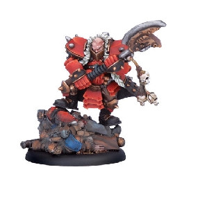 Warmachine: Khador - Epic Caster Kommander Orsus Zoktavir (On Sale)