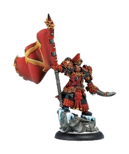 Warmachine: Khador - Epic Warcaster Supreme Kommandant Irusk