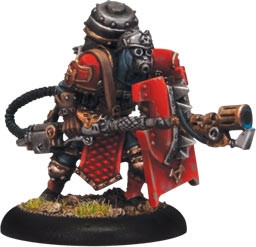 Warmachine: Khador - Assault Kommando Flame Thrower