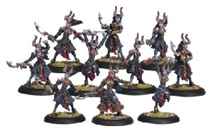 Warmachine: Cryx - Satyxis Blood Witches Unit Box (10)