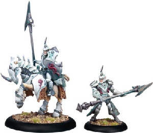 Warmachine: Retribution - Fane Knight Skeryth Issyen