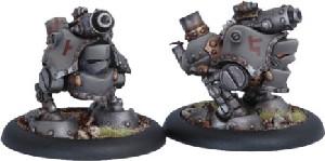 Warmachine: Mercenaries - Grundback Gunner, Rhulic Light Warjack (2)