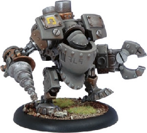 Warmachine: Mercenaries - Driller Rhulic Heavy Warjack