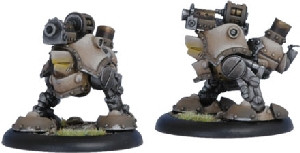 Warmachine: Mercenaries - Grundback Blaster Rhulic Light Warjack (2)