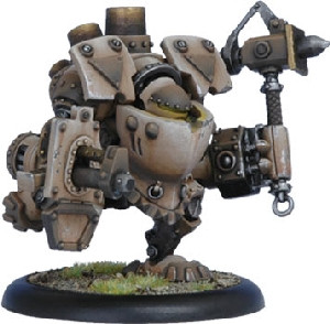 Warmachine: Mercenaries - Wroughthammer Rockram Rhulic Heavy Warjack